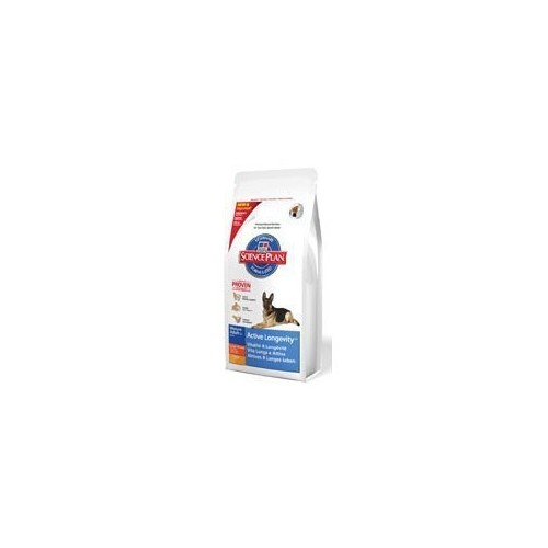 Hill's Science Plan Canine Mature Adult 5+ Act. Longevity L. Breed con pollo Kg.12