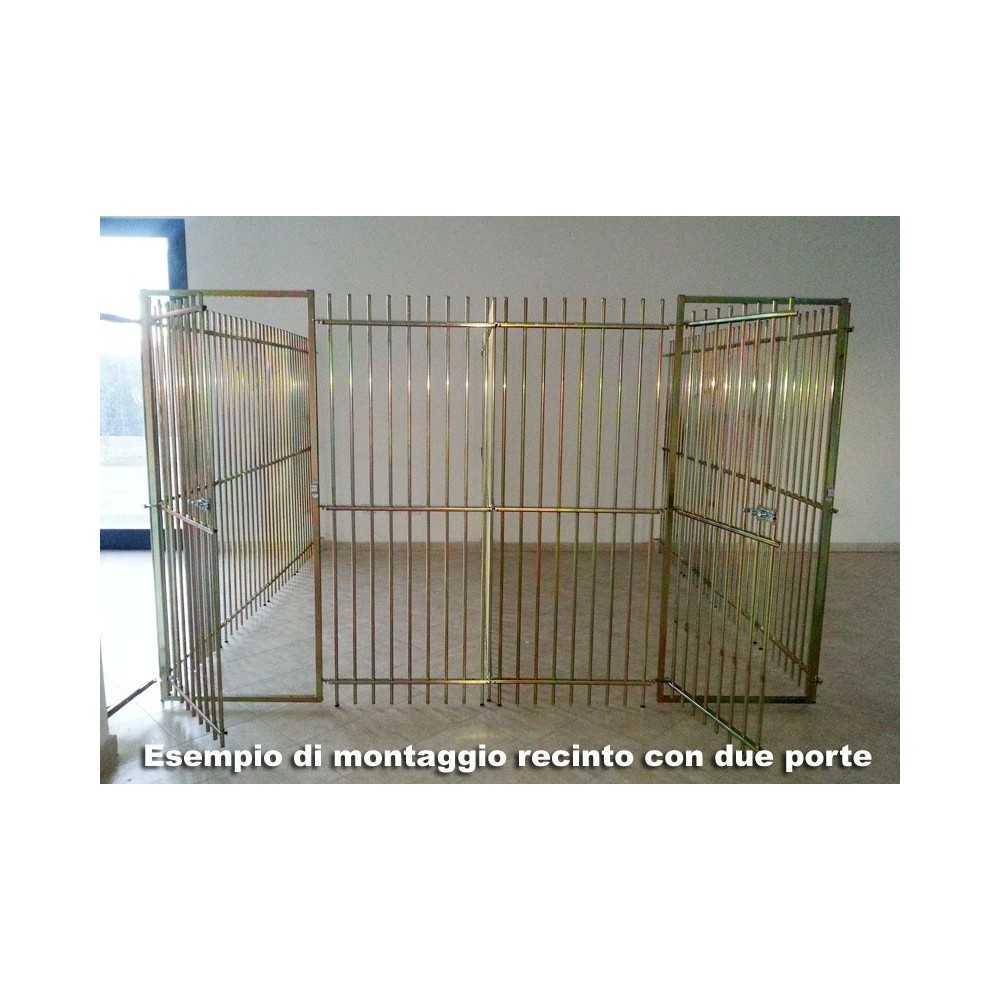 Pannelli per recinzione professionale da esterno per cani for Altezza recinzione per cani
