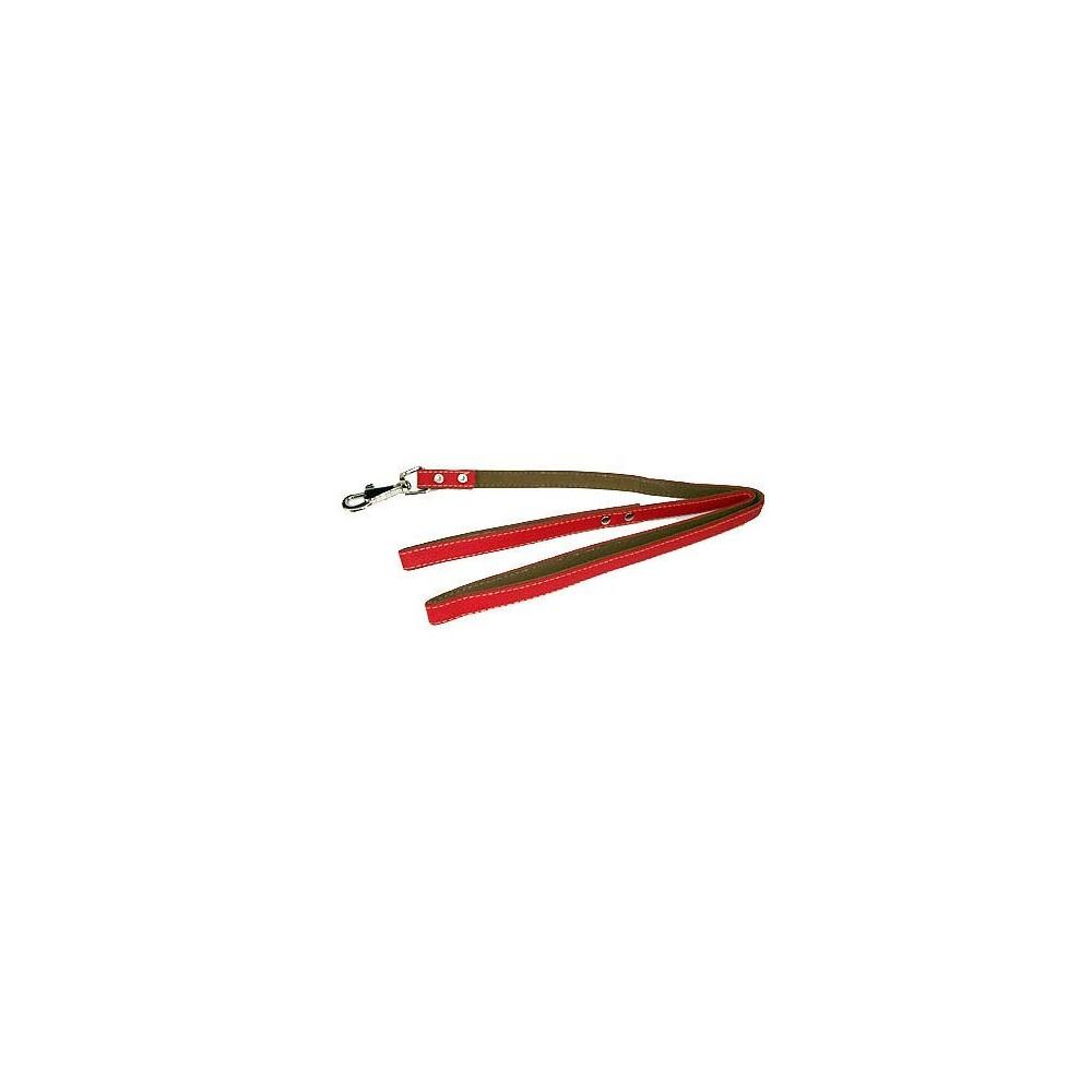 Guinzaglio in similpelle colore Rosso