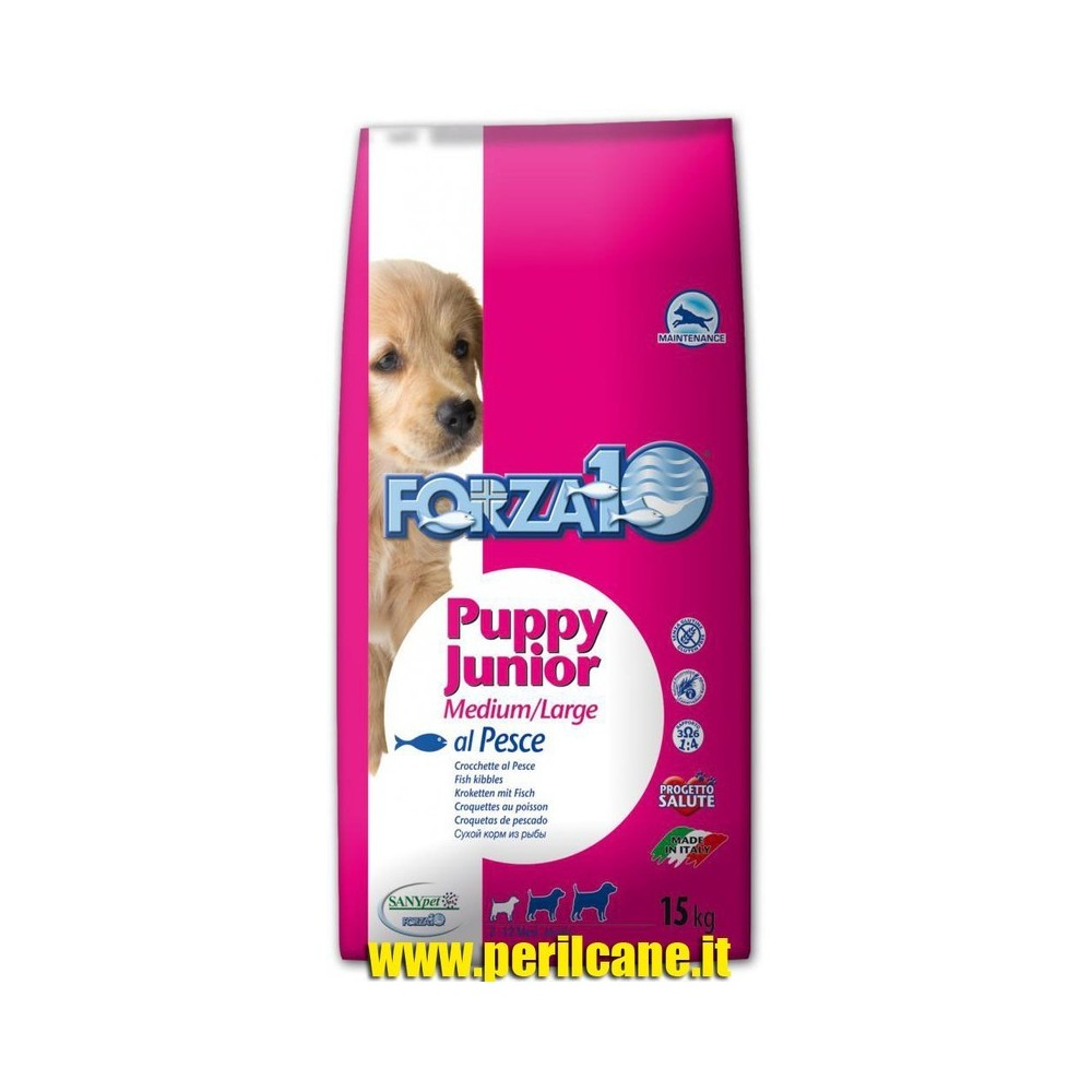 FORZA 10 Puppy Junior al pesce Kg. 15