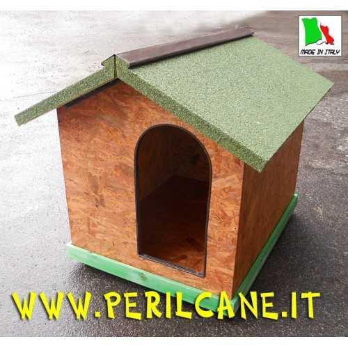 Cuccia per cani da esterno  in legno osb fenolico Classic 5