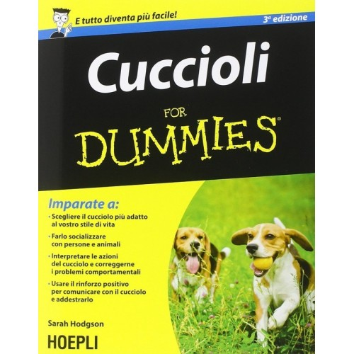 Libro Cuccioli for Dummies""