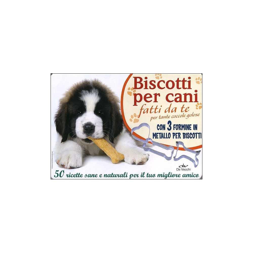 "Libro a schede Biscotti per cani"""""