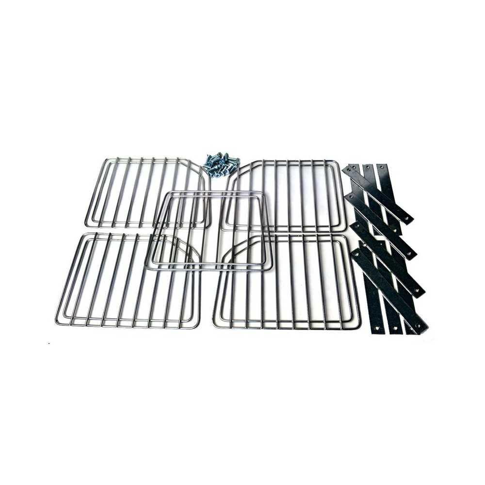 Set completo griglie in metallo per trasportino Skudo 4