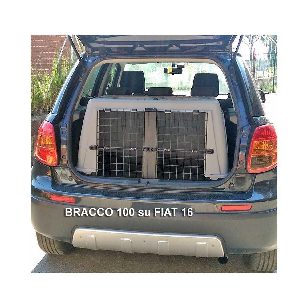Trasportino Auto Doppio Per Cani Skudo Bracco 100 Perilcaneit