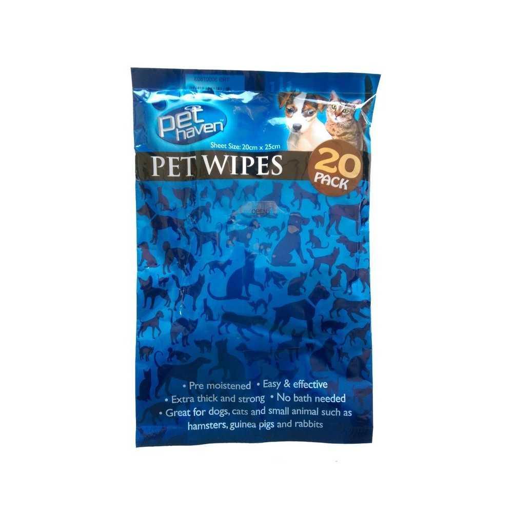 Salviette detergenti per cani e gatti - Pet Wipes