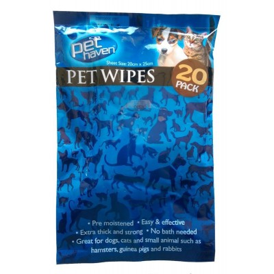Salviette detergenti per cani e gatti - Pet Wipes