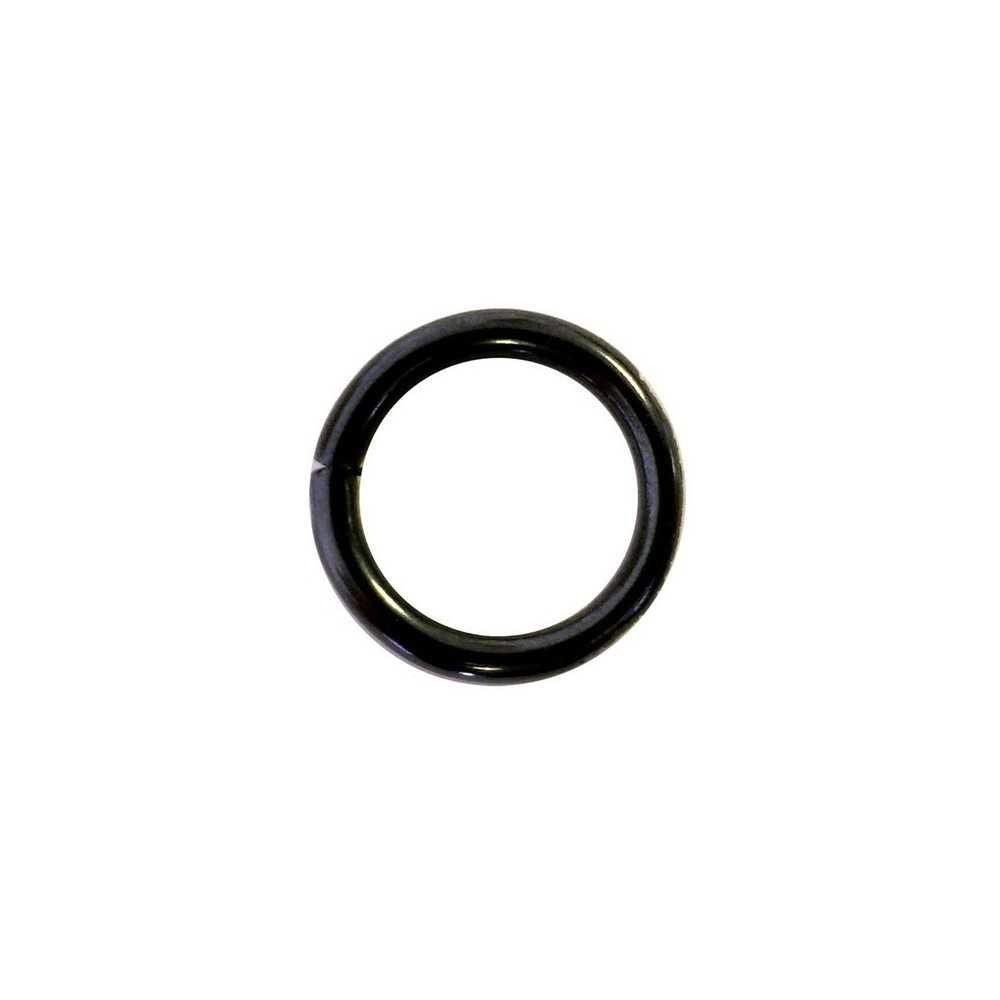 Anello Sprenger D-Ring in acciaio nero mm. 16