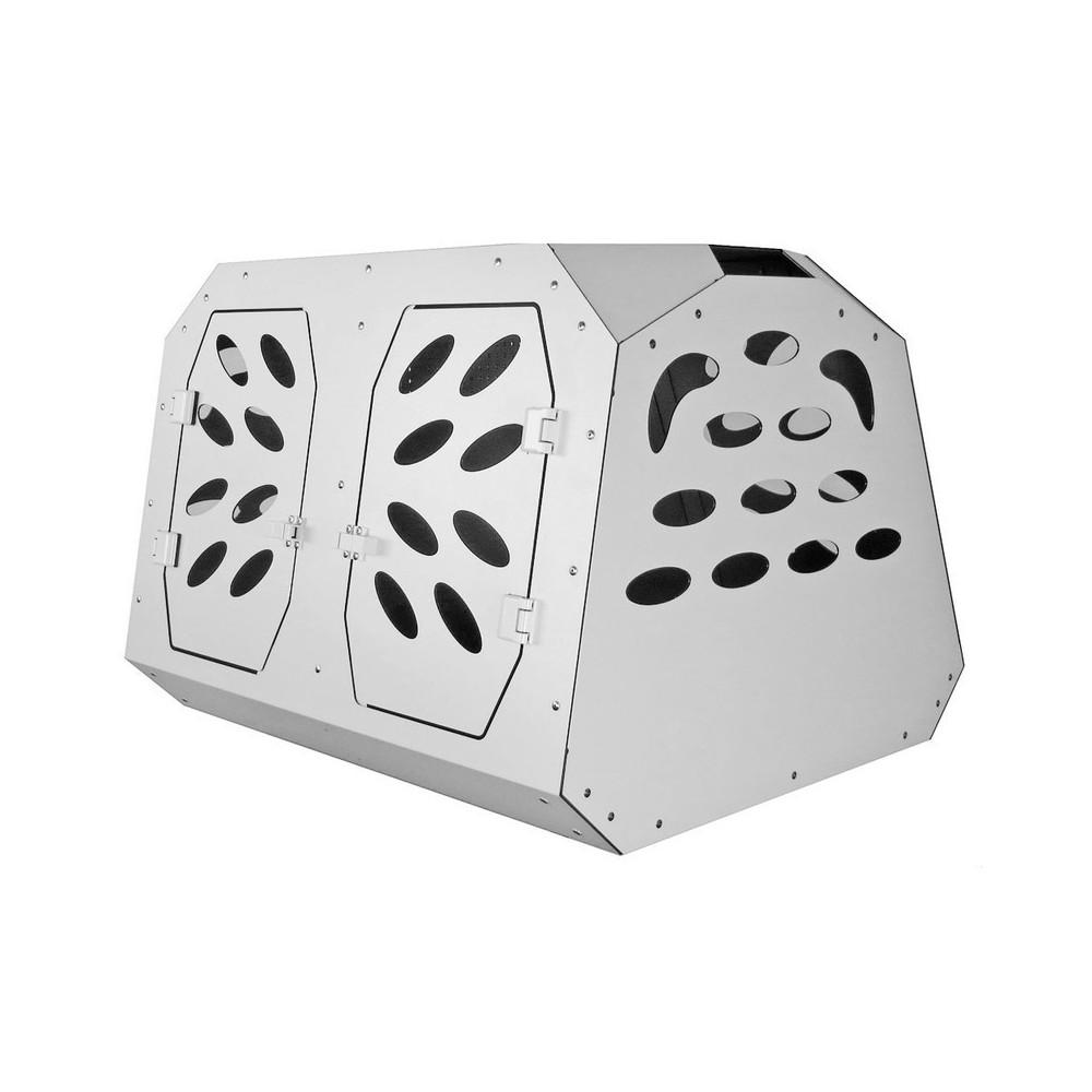 Trasportino Doppio in alluminio Composito per cani di taglia media