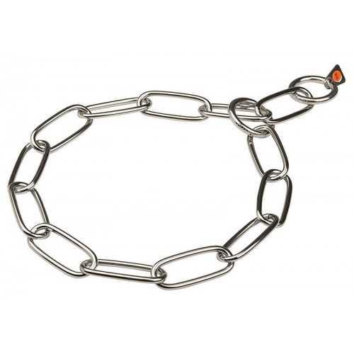Collare Sprenger catena acciaio cromato cm. 40 spess. 2 mm