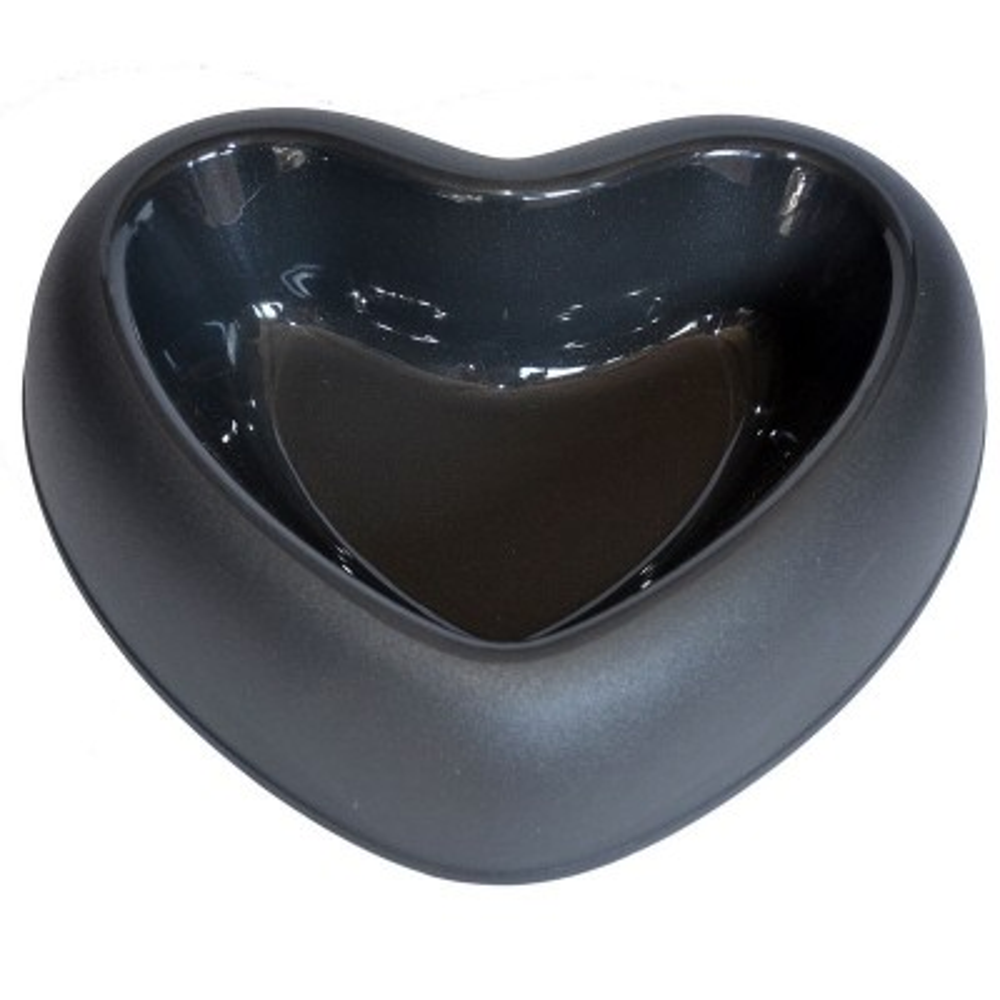 Ciotola in plastica a forma di cuore per cani
