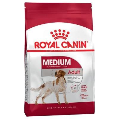 Royal Canin Medium sensible 25 (oltre 12 mesi)  Kg. 15