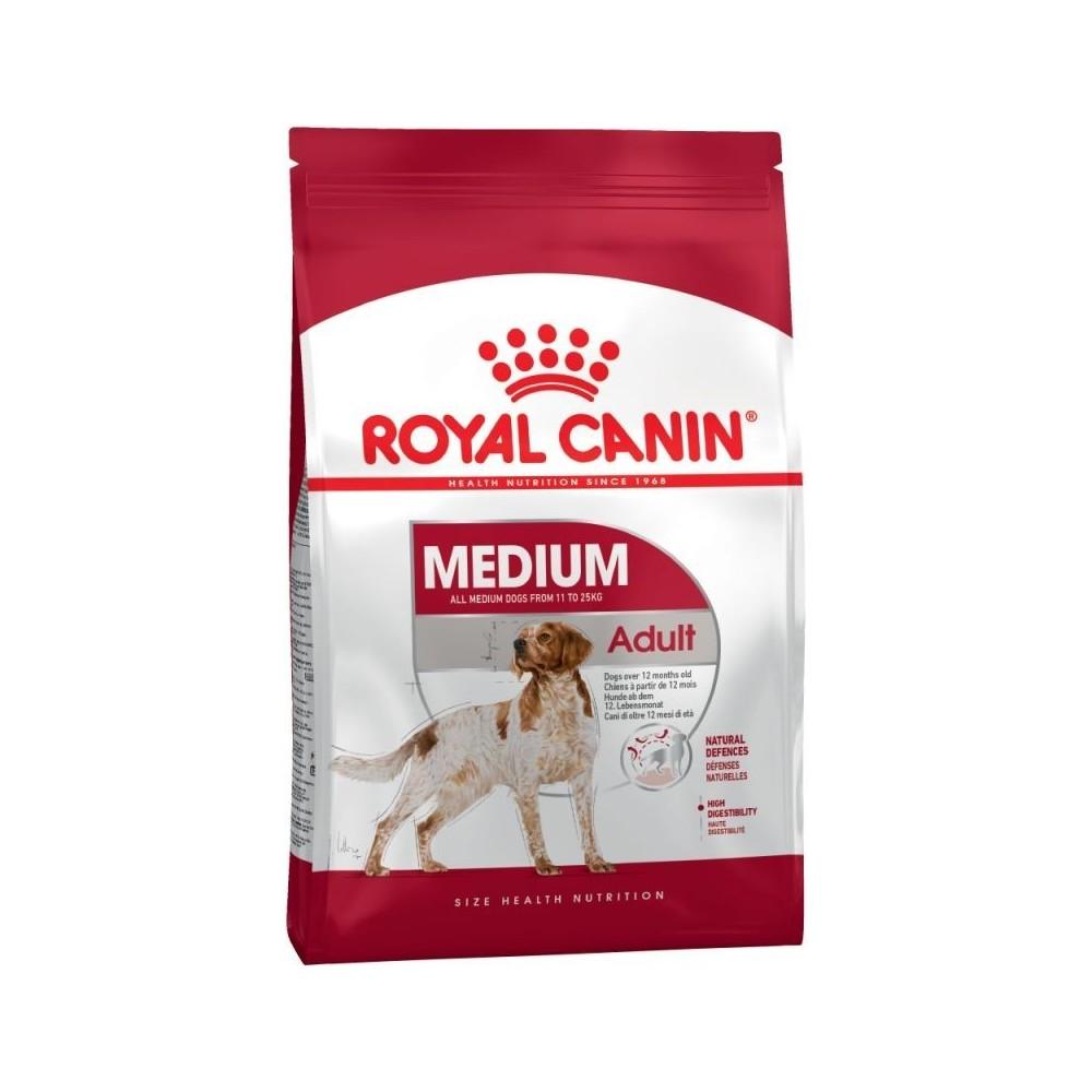 Royal Canin Medium sensible 25 (oltre 12 mesi)  Kg. 15