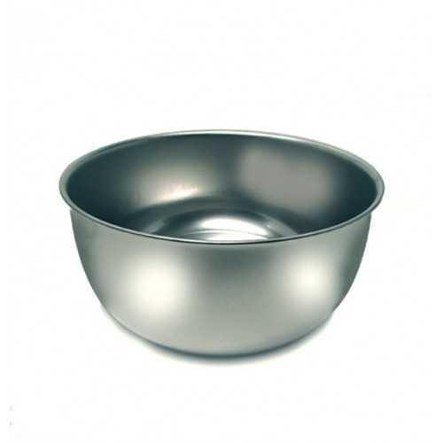Ciotola in acciaio inox alta per acqua cm 20