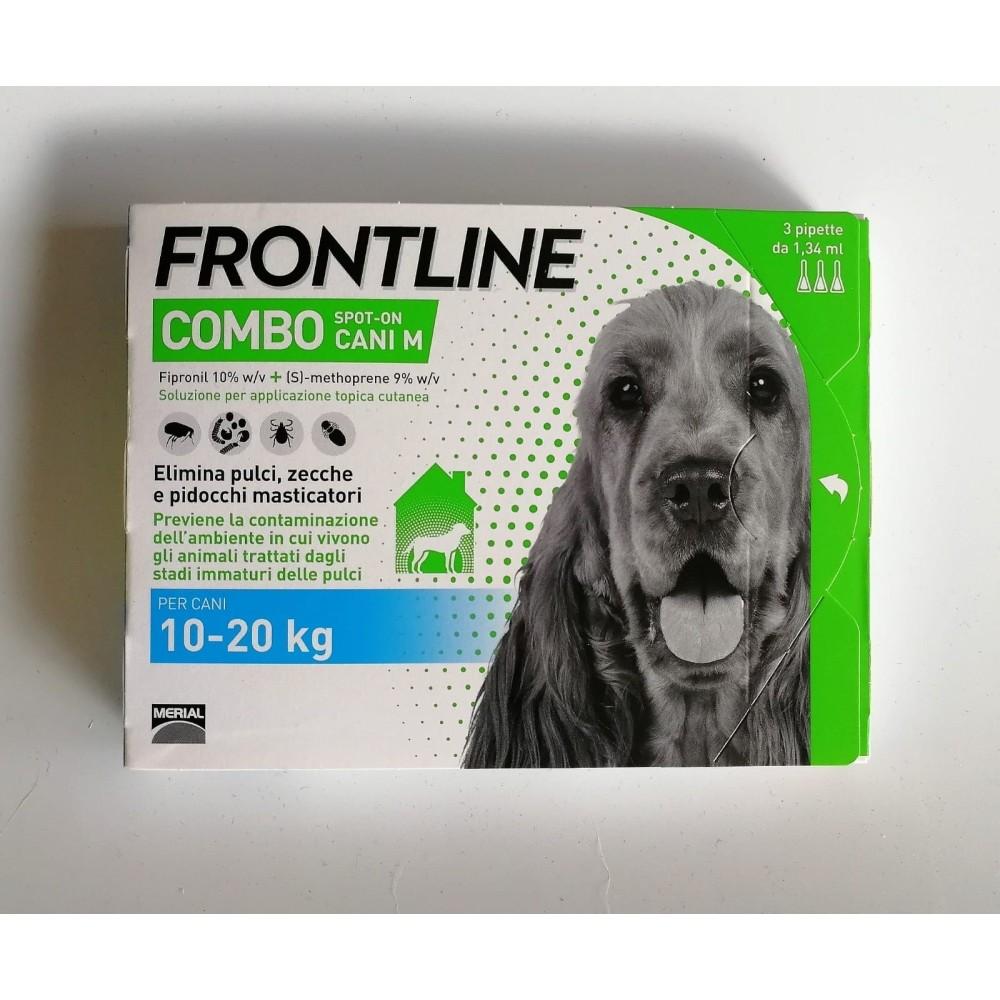 Frontline COMBO per cani da 10 a 20 kg.