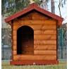 Cuccia tronchetto Chalet in legno giardino