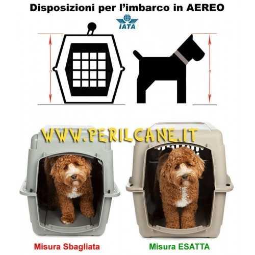 Trasportino Sky Kennel Petmate per cani in aereo
