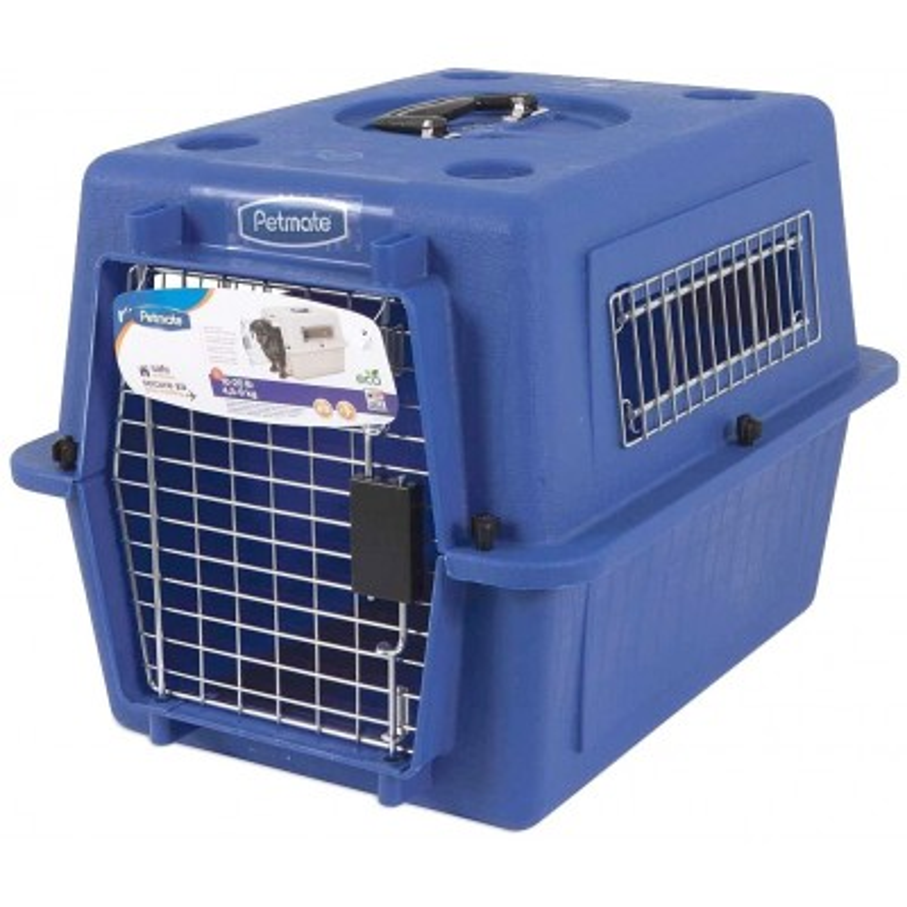 Trasportino cani piccoli o gatti SKY KENNEL Petmate Mis. 3 omologato Iata Aereo