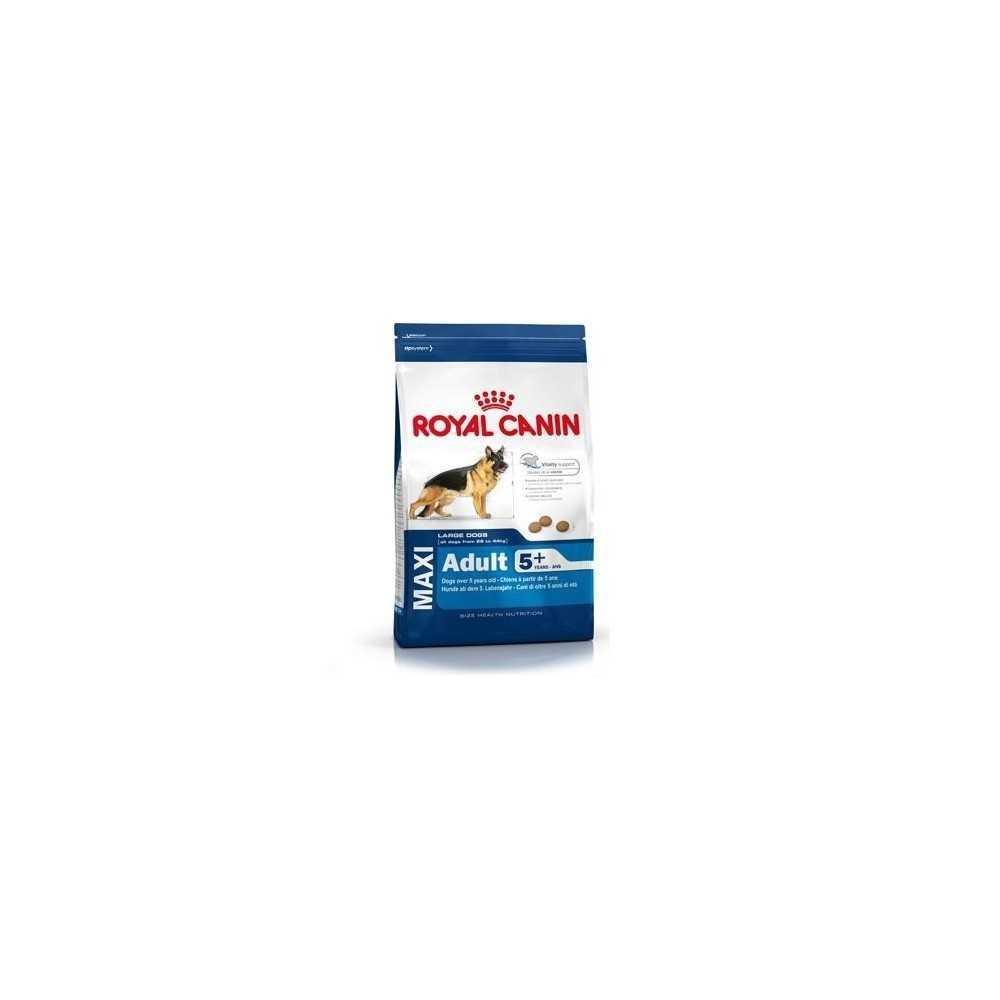 Royal Canin Maxi adult 5+ (da 5 a 8 anni) - Confezione da Kg. 15