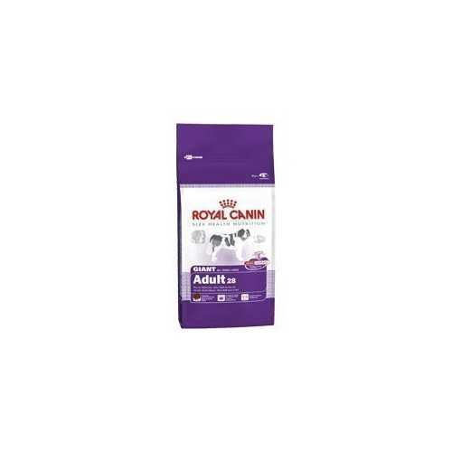 Royal Canin Giant adult 28  (oltre 18/24 mesi)  - Confezione da Kg. 15