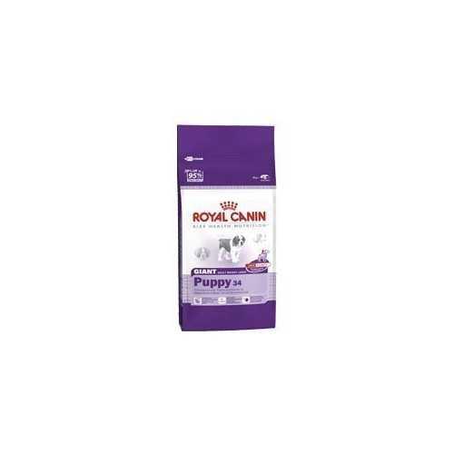 Royal Canin Giant puppy 34 (5 - 8 mesi) - Confezione da Kg. 15