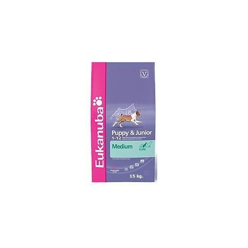 Eukanuba Puppy & Junior Taglia Media  Kg. 12