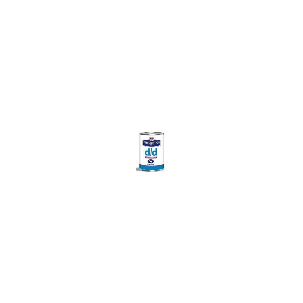 Hill's Prescription Diet Canine d/d anatra 12 lattine da g. 370