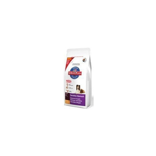 Hill's Science Plan Canine Adult Sensitive Stomach Chicken con uova e riso Kg. 12