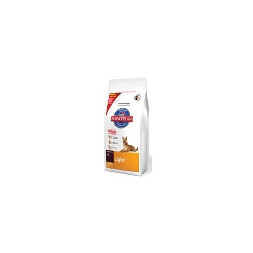 Hill's Science Plan Canine Adult Light con pollo  Kg. 12